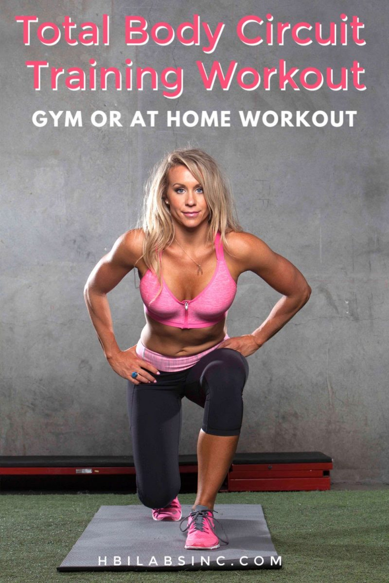 A circuit training workout is the best way to get a total body workout that can be done at the gym or as an at home workout. Circuit Training Tips | Training Tips | Workout Tips | How to Workout | Best Workout Tips | Best Circuit Training Tips via @hbilabs