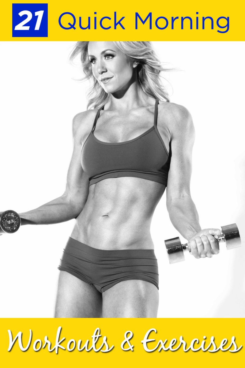 Quick morning workouts are a great way to start your day, giving you energy and focus for the day ahead of you. Morning Workout Ideas   Easy Workouts   Quick Workouts   Fitness Tips   At Home Workouts #workouts