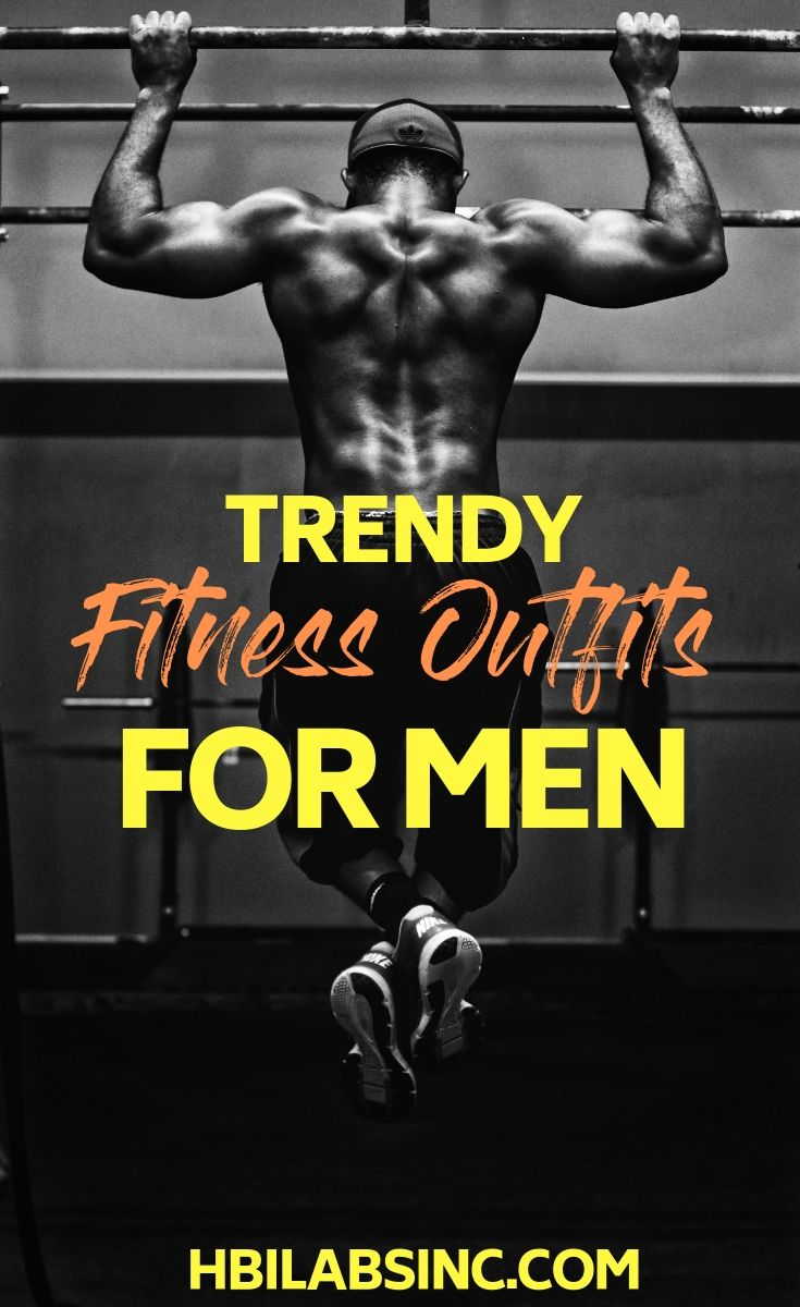 Fill your gym bag with some trendy fitness outfits for men and ditch those old smelly tank tops and shorts for something a bit more fashionable. Fitness Clothes | Workout Tips | Fitness Tips | Fitness Fashion Tips | Fitness Fashion Ideas | Men's Fashion Ideas #fitness #gym