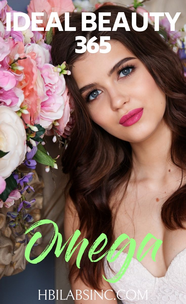 Use Ideal Beauty 365 Omega in your daily routine to get the omega 3s you need for glowing skin, a healthy brain, and overall healthier life. Beauty Tips | Tips for beauty | Skincare Tips | Hairstyle Tips | Healthy Living Tips | Health Supplements #beauty #skincare