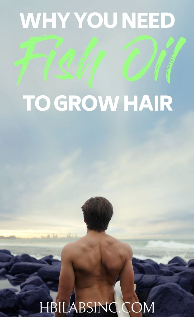 Using fish oil to grow hair is easier and safer than many of the alternative methods people use to regrow hair and grow healthy thick hair. How to Grow Hair | How to Regrow Hair | Causes of Hair Loss | Hair Care Tips | Beauty Tips | Health Benefits of Fish Oil | Health Benefits of Omega-3s #haircare #health