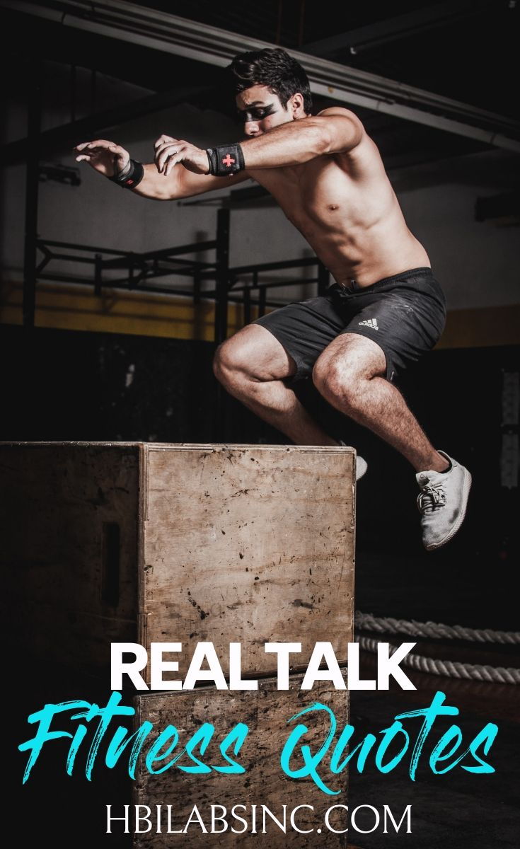 The best real talk quotes to inspire your workout will be brutally honest and motivate you to make the most of your workouts. Fitness Quotes | Workout Quotes | Inspiring Quotes | Motivational Quotes | Healthy Quotes | Honest Quotes #quotes #fitness