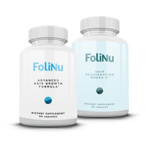FoliNu Hair Growth Formula and Omega 60 Count - Save 78%