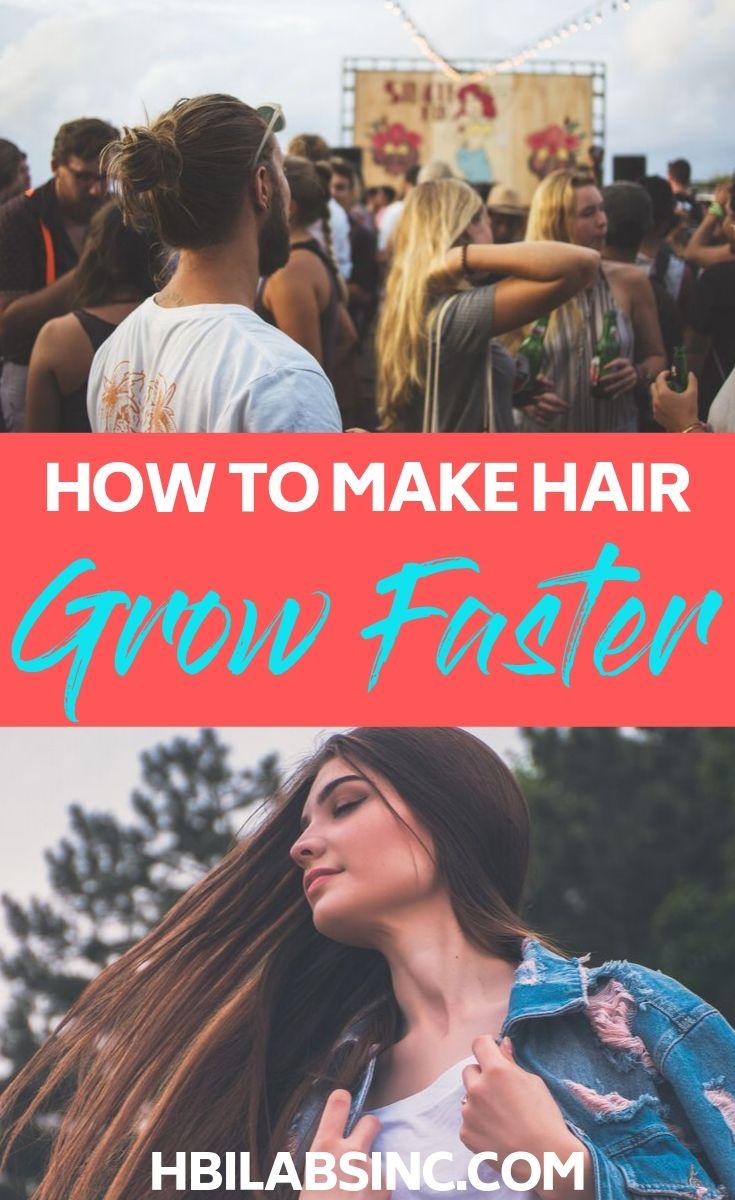"""Everyone, at some point in life, wants to know the answer to """"How do I make my hair grow faster?"""". We have the answers you seek! Beauty Tips 