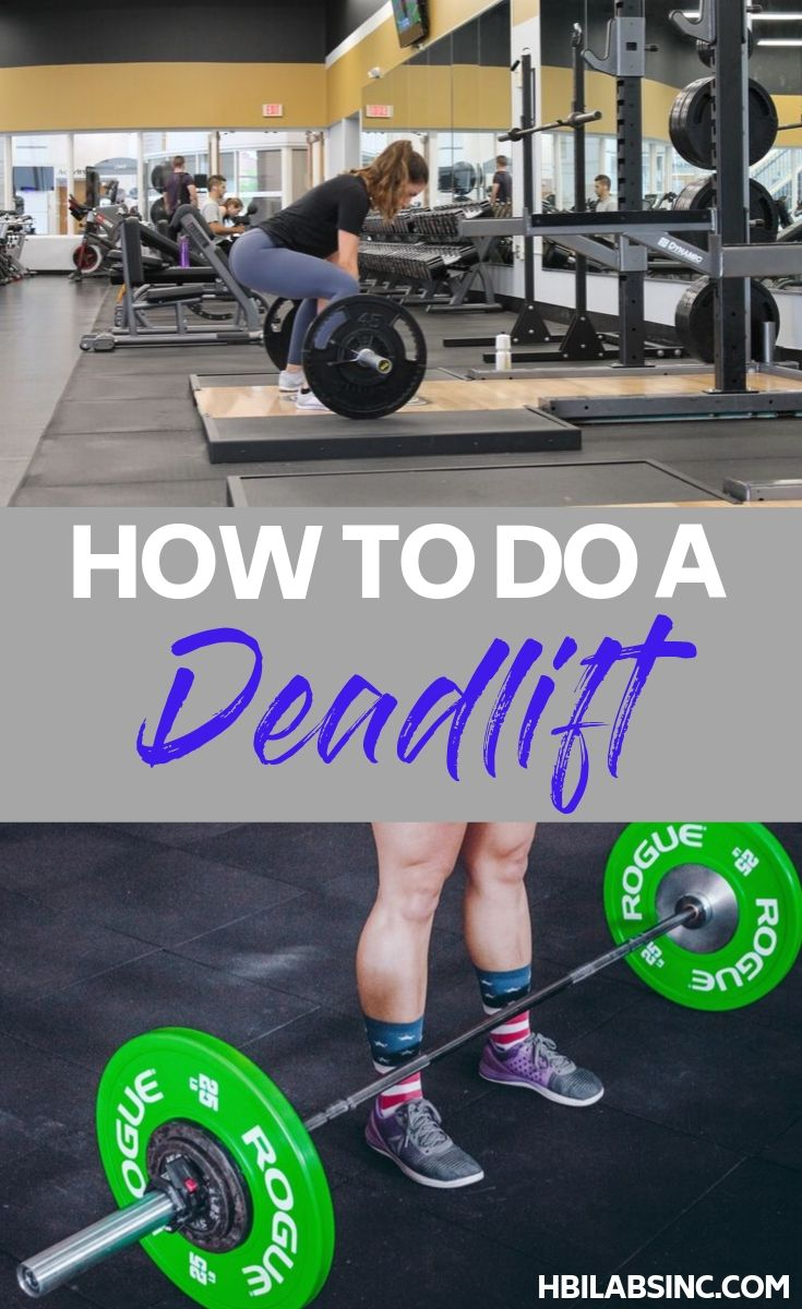 Learn how to do a deadlift and then utilize this compound movement to ensure that you get to your fitness goals the right way. Workout Tips | Fitness Tips | At Home Workouts | At Home Weight Workouts | Strength Training Tips | Beginner Workout Ideas #workout #fitness