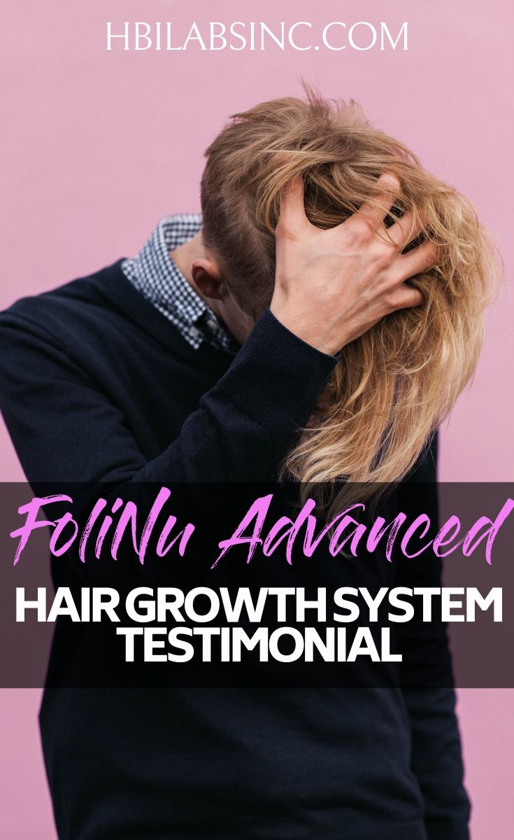 Reading this real-world FoliNu Advanced Hair Growth System testimonial will instill confidence in the system so you can have the hair you have always wanted. Beauty Tips | Tips for Hair Care | Hair Growth Ideas | Hairstyles | Natural Hair Care #hair #healthyliving
