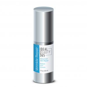 You can use the natural ingredients from Ideal Beauty 365 Wrinkle Repair to look younger, tone facial skin, and nourish your skin for a youthful appearance.