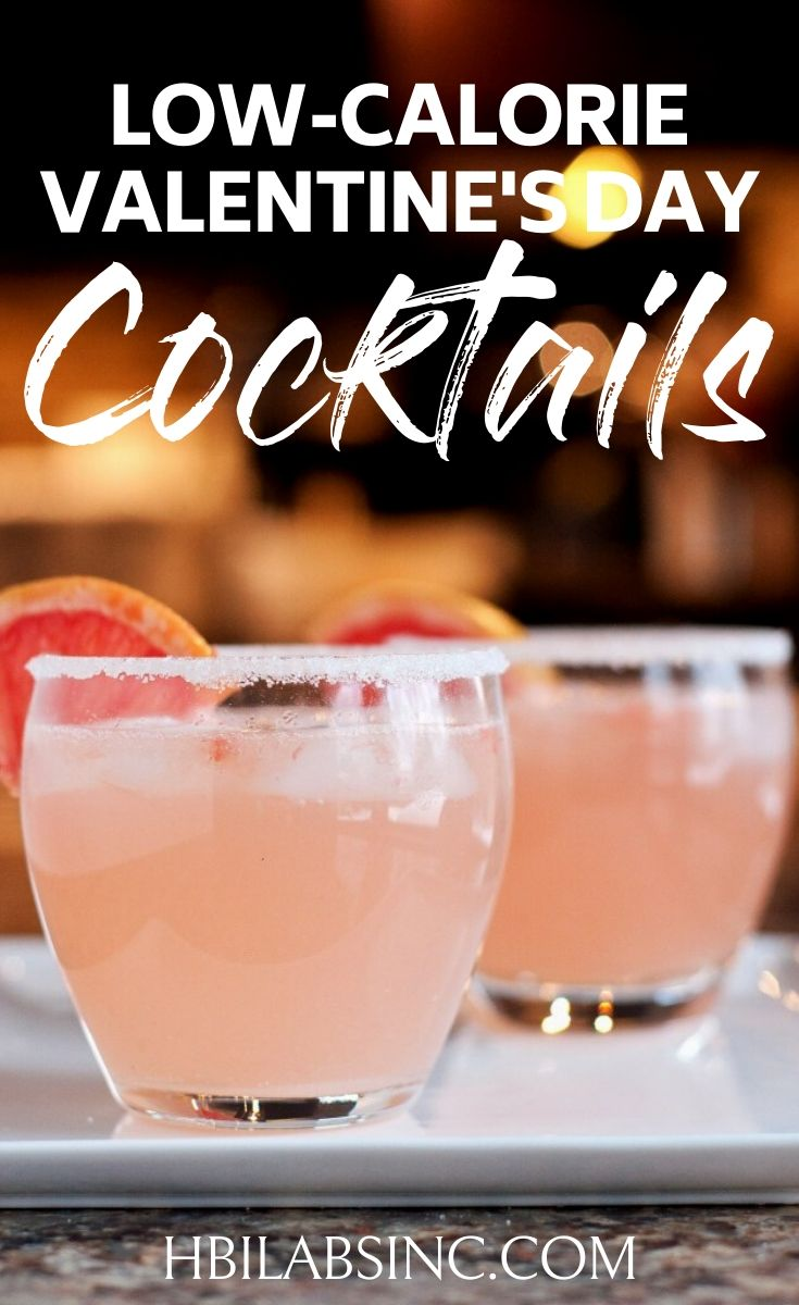 Turn up the heat without turning up the calories this Valentine's Day with low calorie Valentine's Day cocktails that are romantic to make and drink. Valentine's Day Cocktails Easy | Valentines Day Cocktails Vodka | Recipes for Couples | Romantic Cocktails | Pink Cocktails for Valentine's Day | Valentines Day Recipes #valentinesday #cocktails