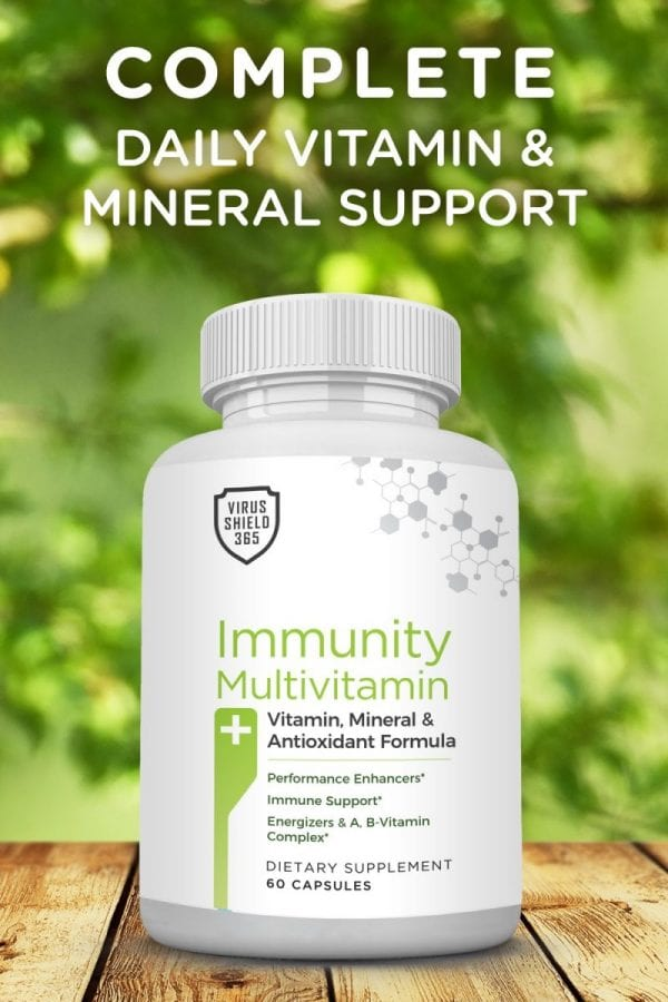 Immunity Multivitamin is specifically designed to give you complete daily vitamin and mineral support to fight off infection and pathogen attacks.