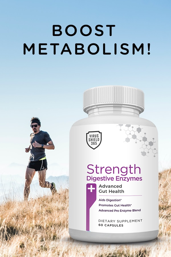 Strength Digestive Enzyme is an advanced blend that helps nutrient absorption while helping digest fats, proteins, carbohydrates, and fiber for gut health.