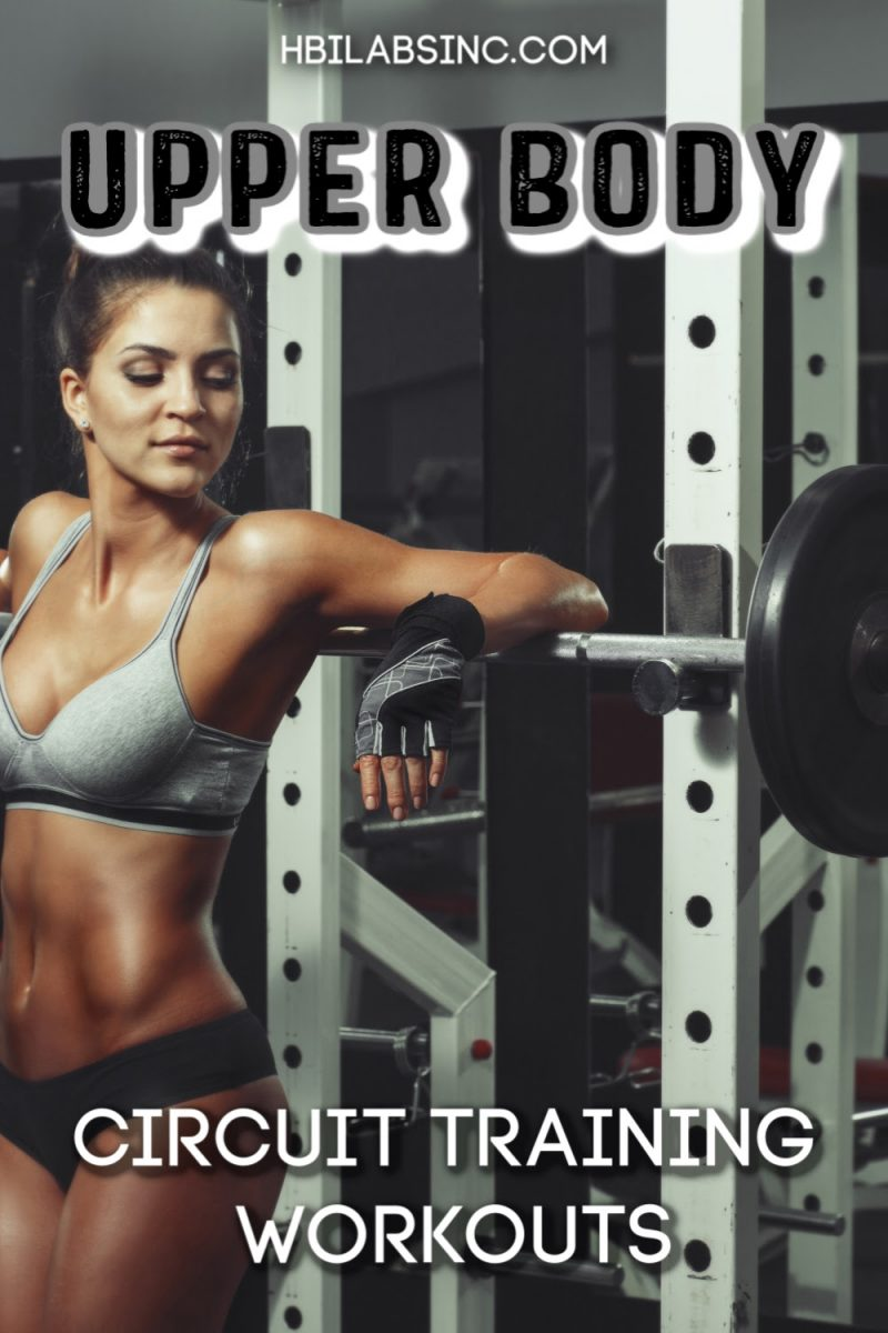 Take fewer breaks and get results with an upper body circuit workout with weights and bodyweight movements that actually work. Upper Body Workouts   Upper Body Training   Workout Tips for Upper Body   Upper Body Fitness Tips   Gym Circuit Training   Circuit Training Ideas #fitness #upperbody via @hbilabs