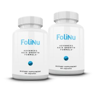 FoliNu Hair Growth Formula 2 pack - Save 77%