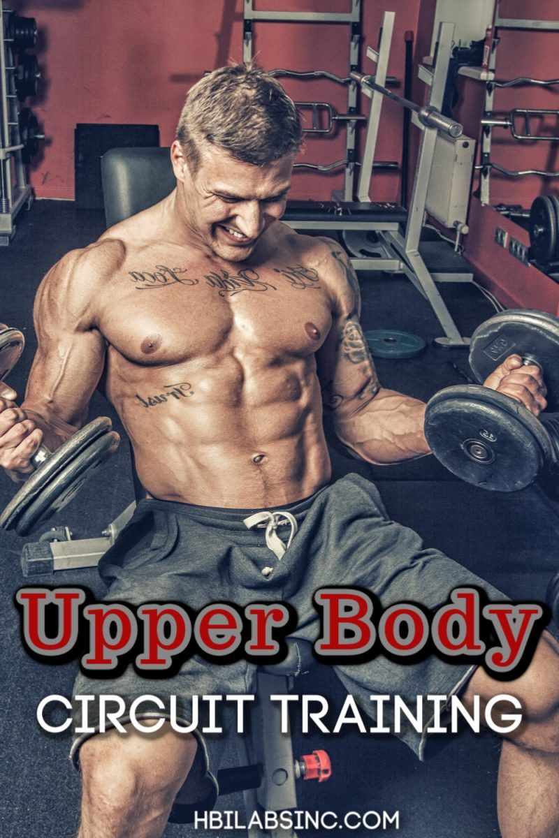 Take fewer breaks and get results with an upper body circuit workout with weights and bodyweight movements that actually work. Upper Body Workouts   Upper Body Training   Workout Tips for Upper Body   Upper Body Fitness Tips   Gym Circuit Training   Circuit Training Ideas #fitness #upperbody
