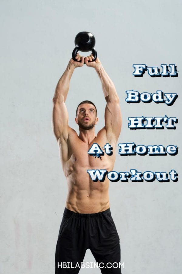 Kettlebells are a great addition to your full body HIIT workout at home and can help you enhance your workout and boost fat burning. At Home Workouts   Kettlebell Workout   Full Body Workout for Women   Full Body Workout for Men   Full Body HIIT Workout with Weights   HIIT Workouts for Men   HIIT Workouts for Women #workout #HIIT