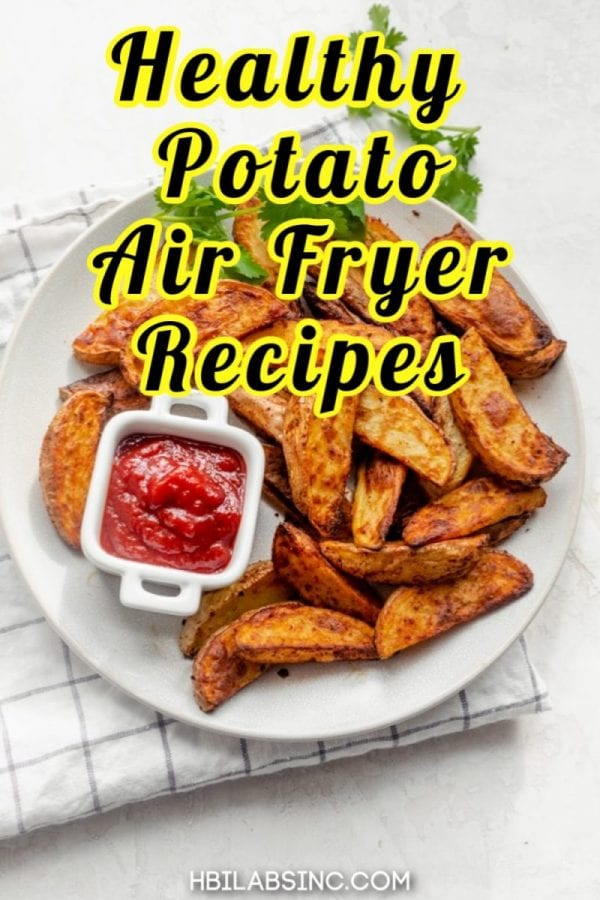 Healthy air fryer potato recipes are not only healthy but easy to make and take less time than most other potato recipes for breakfast, lunch, or dinner. Healthy Air Fryer Recipes | Healthy Air Fry Side Dishes | Air Fry Snacks | Recipes for Potatoes | Healthy Potato Recipes | Healthy Snack Recipes #airfryer #healthy
