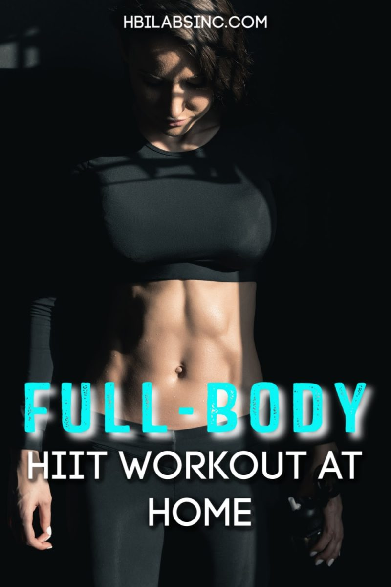 Kettlebells are a great addition to your full body HIIT workout at home and can help you enhance your workout and boost fat burning. At Home Workouts   Kettlebell Workout   Full Body Workout for Women   Full Body Workout for Men   Full Body HIIT Workout with Weights   HIIT Workouts for Men   HIIT Workouts for Women #workout #HIIT via @hbilabs