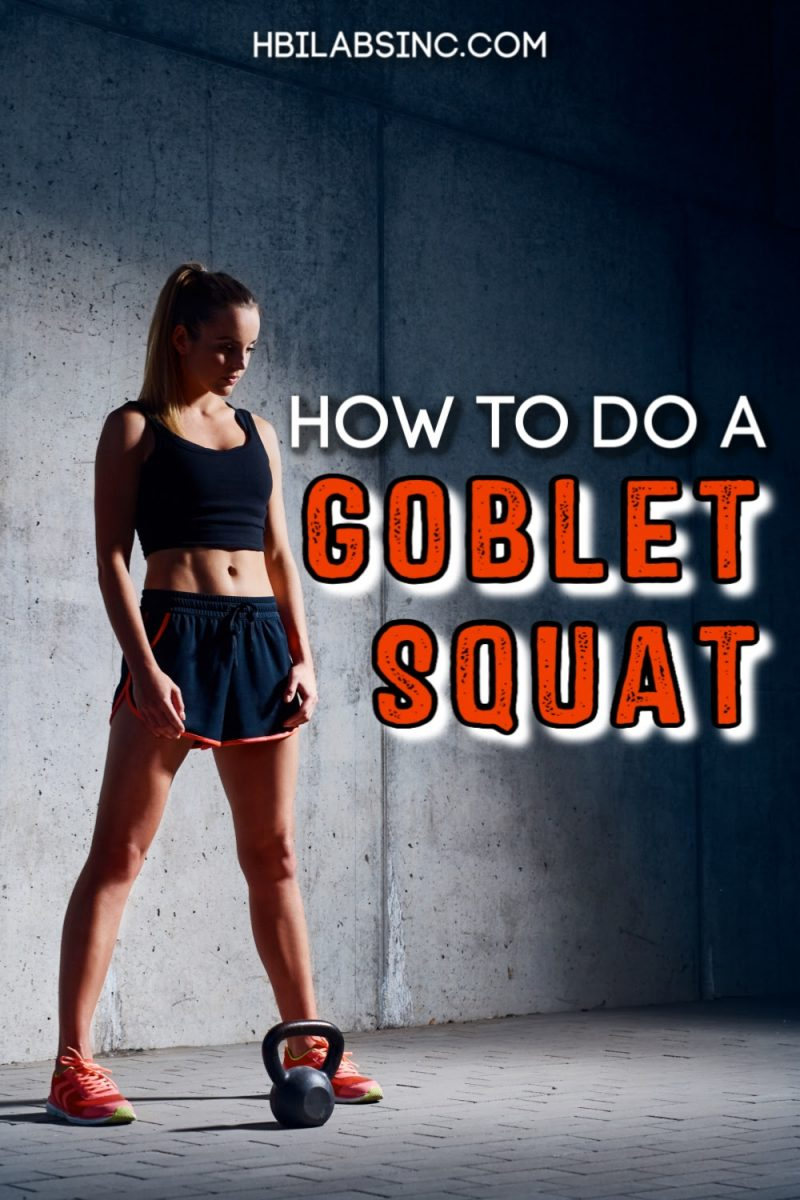 Learning how to do a goblet squat will teach you proper form so you maximize your workout results and minimize injury. Home Workouts | Kettlebell Workouts | Dumbbell Workouts | Tips for Doing Squats | Tips for Doing Goblet Squats | Home Fitness Tips | Working Out at Home #homeworkout #exercises via @hbilabs