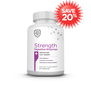 Virus Shield 365 Strength Digestive Enzymes by HBI Labs Subscribe and Save 20%