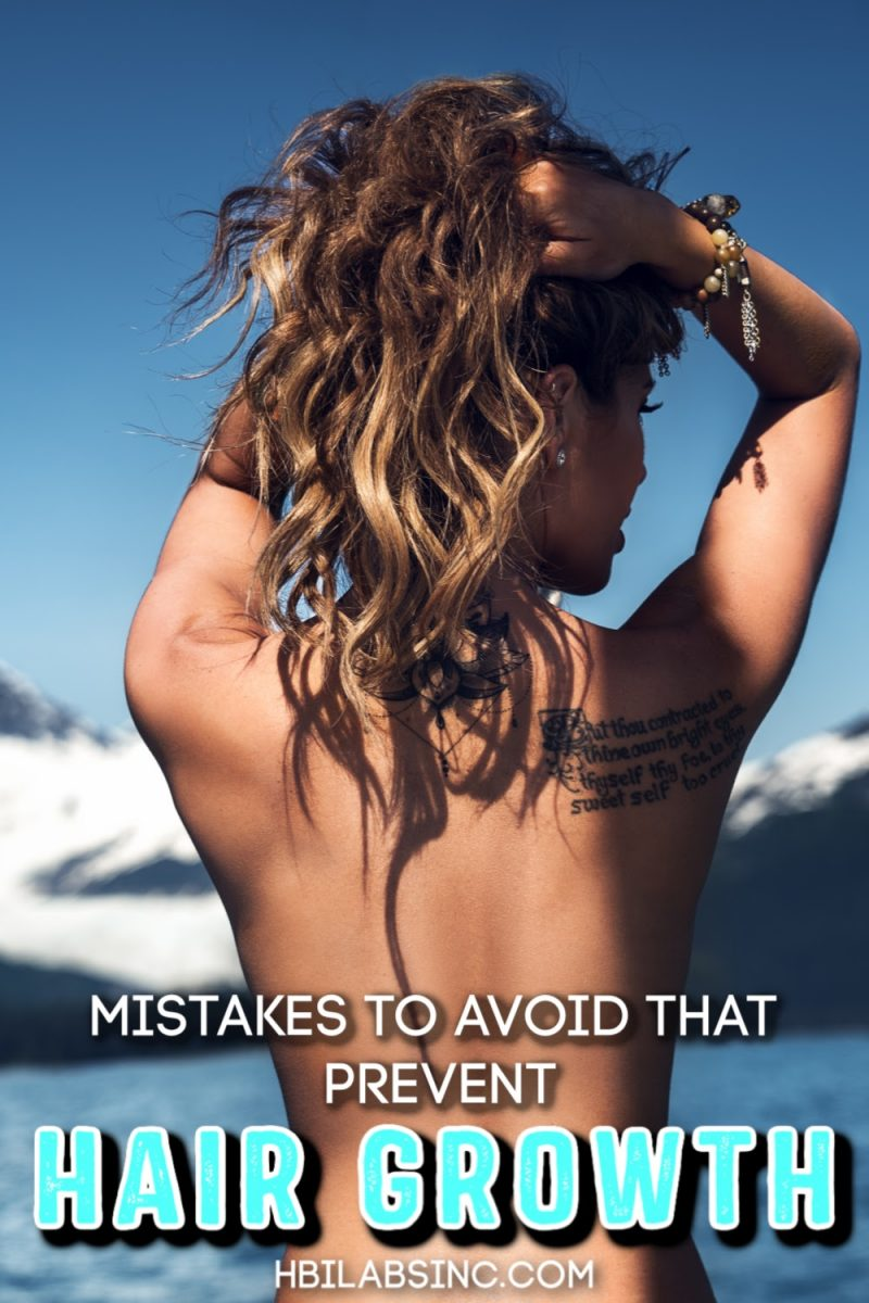 The worst mistakes that can prevent hair growth can easily be avoided so you can regrow hair naturally and strengthen existing hair. Tips for Hair Care   Hair Care Ideas for Men   Hair Care Ideas for Women   Hair Regrowth Shampoo   Hair Regrowth Conditioner   Hair Regrowth Serum That Works   Beauty Tips #haircare #beautytips via @hbilabs