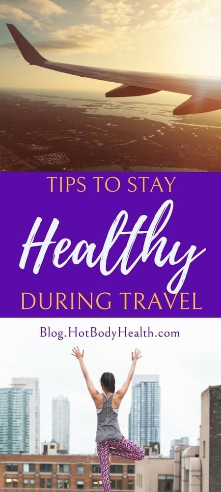 It can be easy to push your fitness routine aside while traveling. Use these tips to stay healthy while traveling to minimize weight gain. Travel Tips | Travel Fitness Tips | Healthy Travel | Fitness Travel | How to Stay Fit During Travel