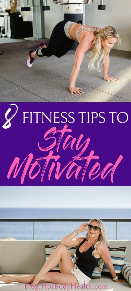 Staying motivated to work out is not always easy. These workout tips will help you persist through the lows and never give up on your fitness journey.