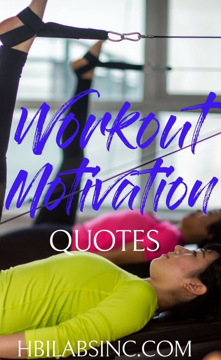 Workout motivation quotes will ensure you make it to the gym or complete that at-home workout every single day of the week. #workout #workoutmotivation #workoutquotes #quotes #motivationalquotes #motivation #fitness #fitnessquotes