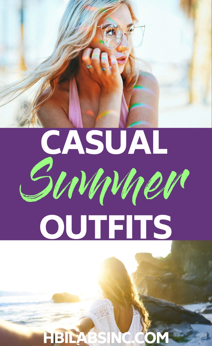 Relax your style and enjoy some inspiration for some casual summer outfits that you can use all summer long and on vacation! Fashion Ideas | Style Trends for Summer | Summer Outfit Inspiration | Summer Outfits | Summer Fashion 2019 | Summer Style 2019 #summer #fashion