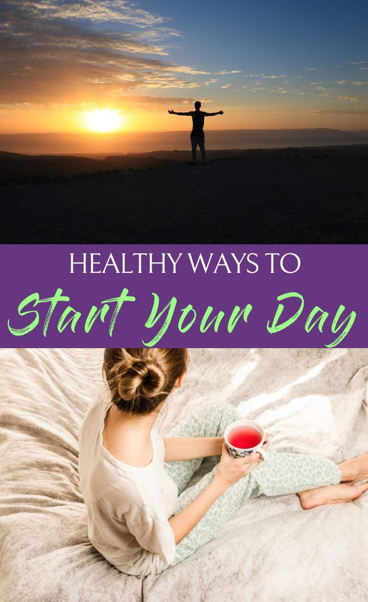 When you've found the best healthy ways to start your day you can turn them into routine habits making a healthy lifestyle natural each and every day. #health #workouttips #fitness #nutrition #fitnesstips