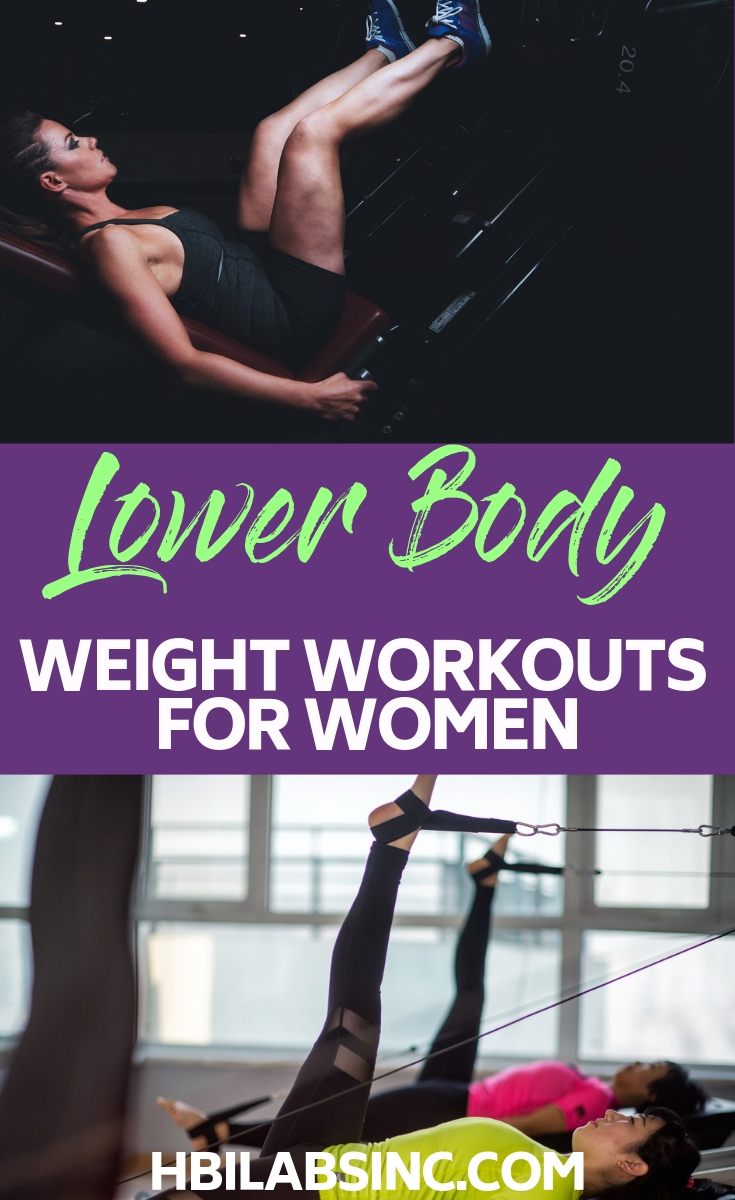 The best lower body workouts with weights for women will help you achieve your fitness goals and burn fat faster! Lower Body Workouts | Workouts for Women | Workouts with Weights for Women | Weightlifting Workouts for Women | At Home Workouts