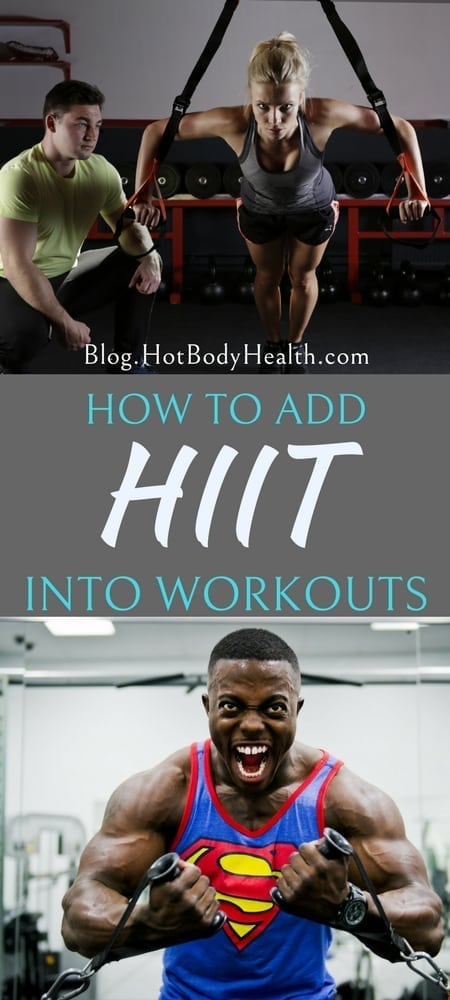 Finding the best ways to add HIIT to your workouts and training routine will increase your calorie burn and help you see results more quickly! HIIT Training | Workout Tips | Fitness Tips | What is HIIT Training | Why Do HIIT | HIIT Results | At Home Workouts