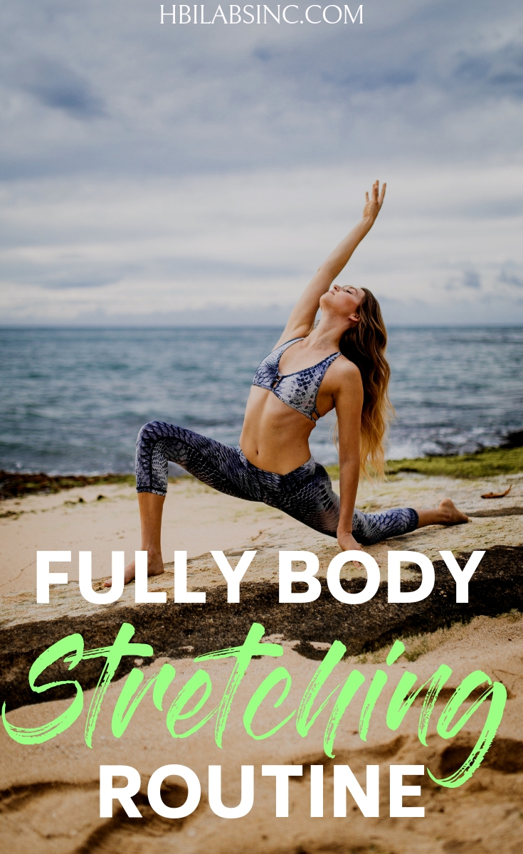 It is important to make a full body stretching routine part of your daily routine so that you can feel AND perform your best while reducing your risk of injury! Stretching Ideas | How to Stretch | Full Body Stretching | Why is Stretching Important | Health Benefits of Stretching
