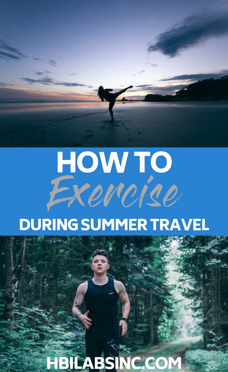 Use the best ways to exercise while you travel in summer to stay fit, happy, and healthy even while you experience the world in a new way. Workout Tips | Fitness Tips | Summer Travel Tips | Summer Fitness Tips | Summer Workout Tips | Healthy Travel Tips | Healthy Summer Tips #fitness #summer