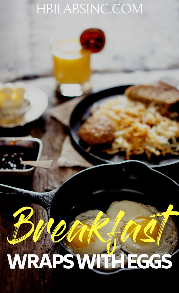 Start your day off right with some healthy breakfast wraps with eggs that will not only be healthy but help give you energy for your day. Healthy Recipes | Healthy Breakfast Recipes | Healthy Recipes with Eggs | Healthy Recipes with Wraps #recipes #breakfastrecipes