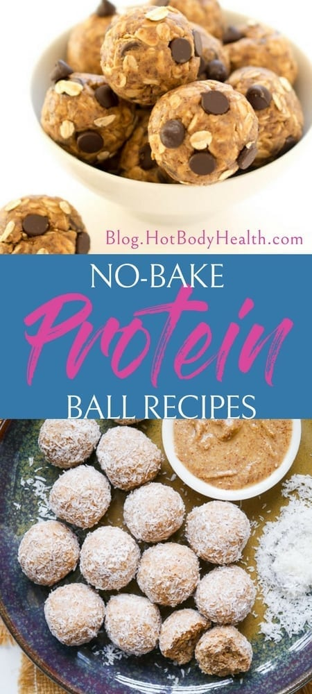 No bake protein balls are an easy to make protein snack that is healthy and provides a boost of protein to help burn fat and keep you full. Protein Balls Recipes | No Bake Protein Balls Recipes | Protein Filled Snacks | Best Protein Snacks | Healthy Snacks on the Go