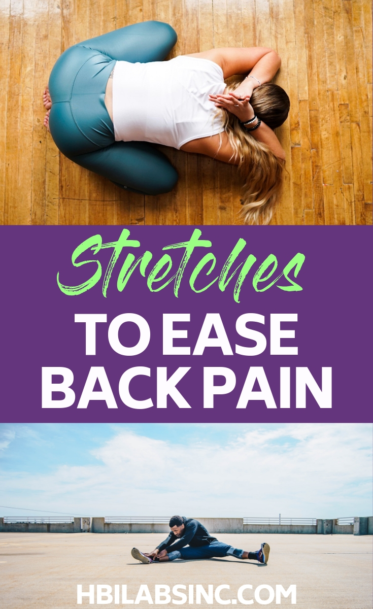 Throwing out your back or having back pain can significantly limit your day. These stretches for a sore back can be done at home and will help reduce pain and improve mobility. At Home Exercises | At Home Workouts | Stretching Routines | Healthy Living | Back Stretches | Fix a Sore Back