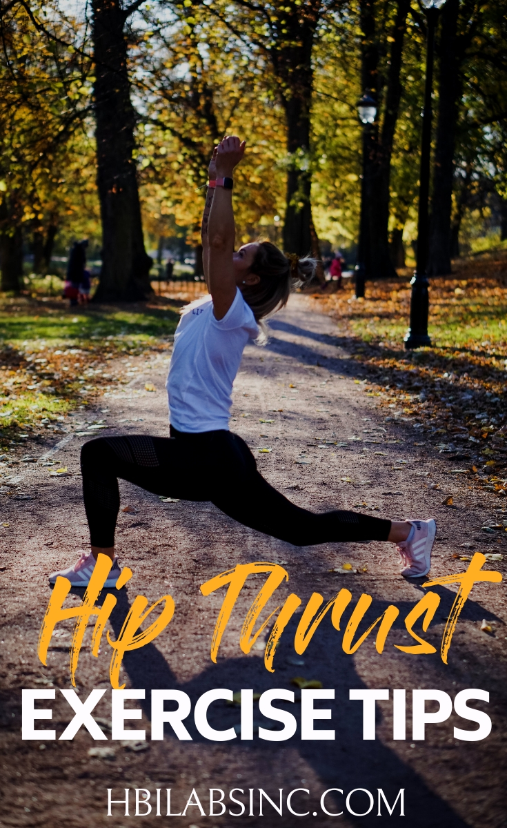 The hip thrust exercise is great for all exercise levels, has many benefits, and you can do it anywhere when you know how to do it properly. Workouts | Workout Ideas | Fitness Ideas | Booty Workouts | Glutes Workouts | Bikini Workouts | Workouts for Women | Workouts for Men #workouts #fitness