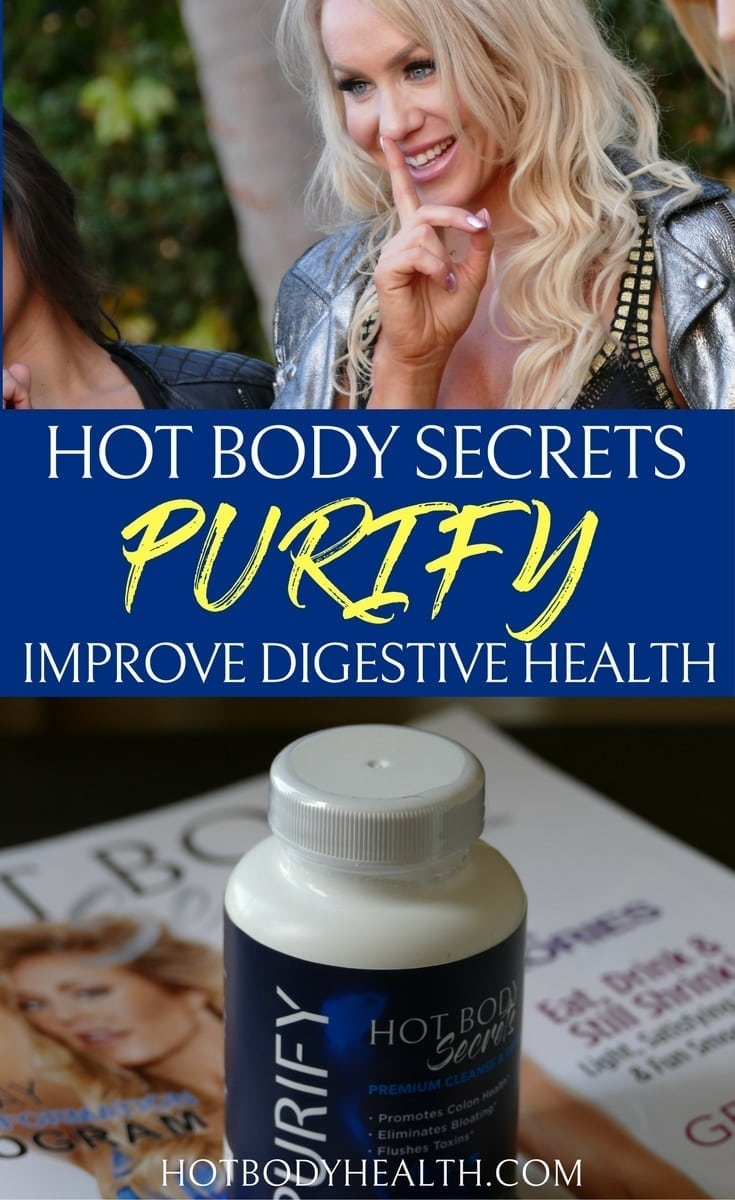 Debloat and improve digestion with Hot Body Secrets Purify supplement to help you feel your best! How to Debloat | How to Reduce Bloating | Lose Weight before an Event | Weight Loss Tips | How to Improve Digestion