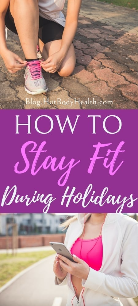 The Holidays are the easiest time of year to get off track with your fitness goals but there are ways to stay on track with your diet during the holidays. Diet Tips | Diet Plans | How to Stay on Track with Exercise | Holiday Fitness Tips