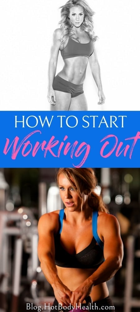 Starting a fitness routine for the first time can be overwhelming, but if you already know how to start working out, the fears subside. How to Get Fit | Workout Tips | Fitness Tips | Health Tips | Fitness Pro Tips | Workout Inspiration