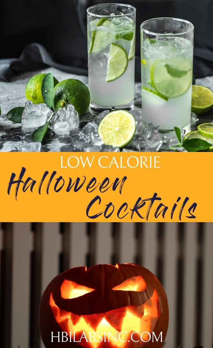 Enjoy the first holiday of the season without missing a bit by using the best low calorie Halloween cocktails that keep your diet safe. Halloween Cocktail Recipes | Cocktail Recipes | Halloween Drinks | Weight Loss Cocktails | Low Cal Cocktails #Halloween #cocktails #lowcalorie