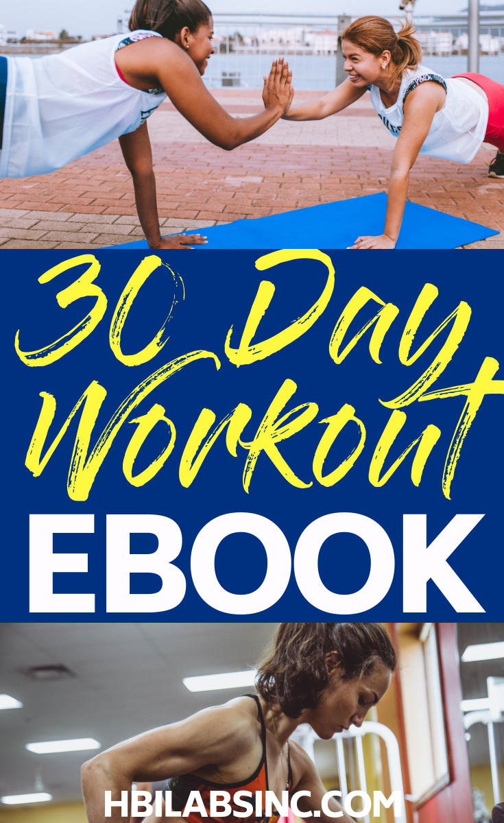 This effective workout and meal plan ebook will help you plan meals, track your food, and help you lose weight with effective daily workouts and exercises. Women's Health Tips | Workouts for Women | Fitness ebooks | Meal Planning | Weight Loss Tips | 30 Day Workouts