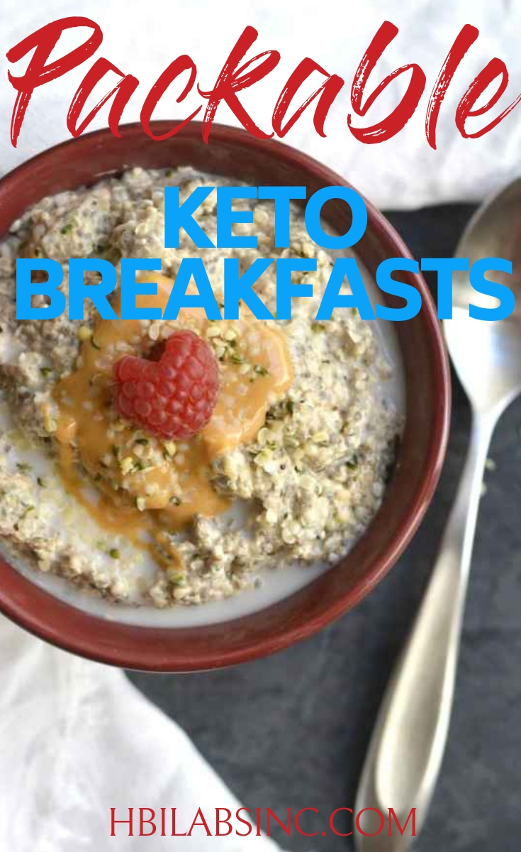 Having packable keto breakfasts at the ready is a good way to make sure that no matter how crazy your mornings get, you will always have a good start. Keto Breakfasts | Healthy Keto Breakfasts | Packable Breakfasts for Weight Loss | Packable Healthy Breakfasts | Weight Loss Recipes | Healthy Recipes
