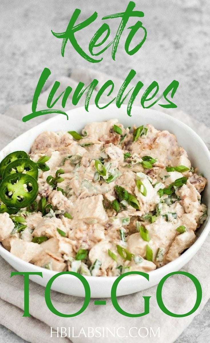 Take your keto diet with you on the go with the best packable keto lunches so you can stay on track with your weight loss and healthy living. #keto #ketorecipes #weightloss | Keto Recipes for Lunch | Keto Lunches for Work | Keto Lunches for School | Low Carb Recipes