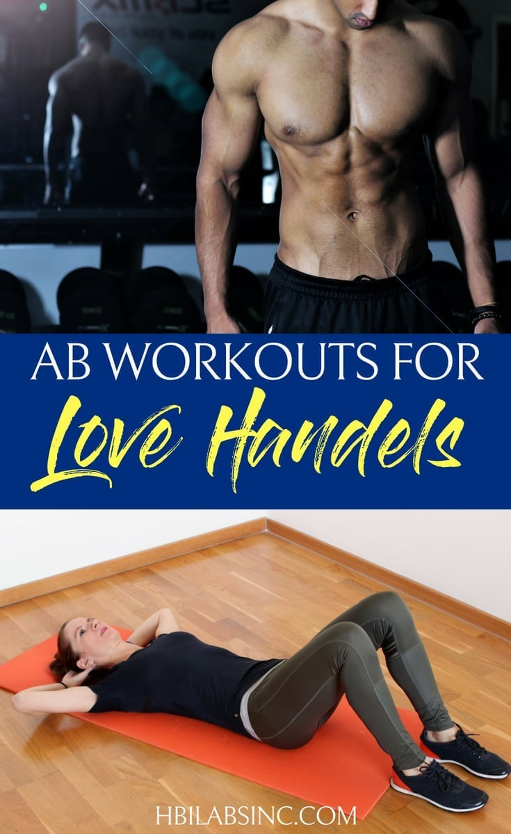 Ab workouts for love handles are some of the easiest workouts you can do and will give you the body shaping results that you want. #abs #workouts #fitness | Best Love Handle Workouts | Easy Workouts for Love Handles | Muffin Top Workouts | At Home Workouts for Love Handles