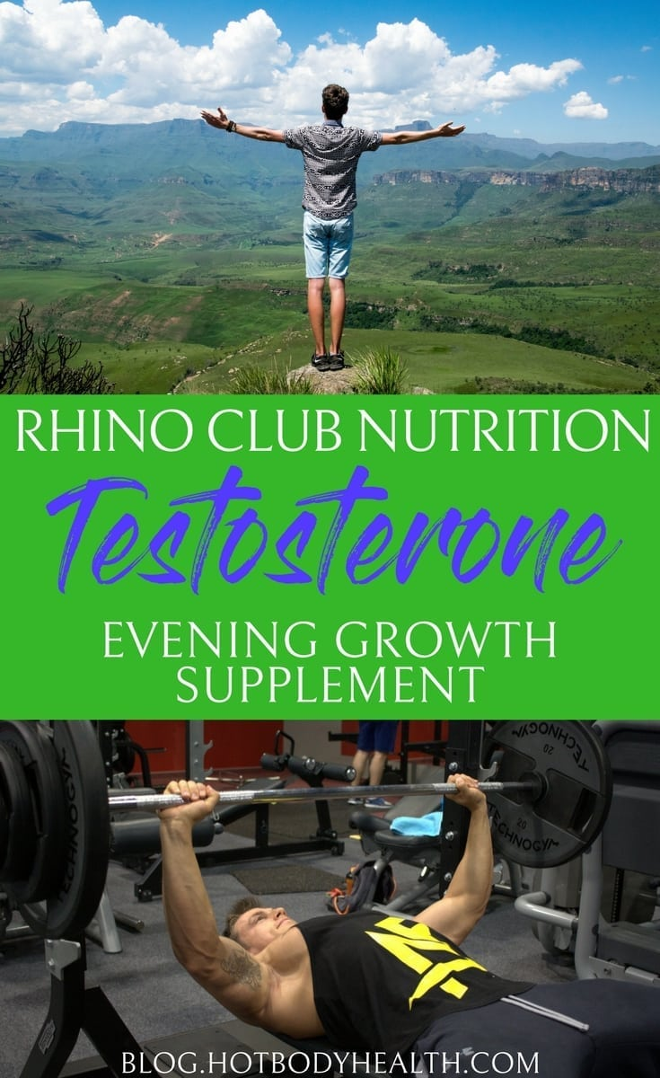 Using Rhino Club Nutrition Evening GROWTH Formula is a great way to help the body stay healthy in many different ways thanks to testosterone. Testosterone Hormone | Health Supplement | Best Health Supplements | Mens Health Supplement | Best Mens Health Supplement | Testosterone Replacement | Low Testosterone | How to Fix Low Testosterone