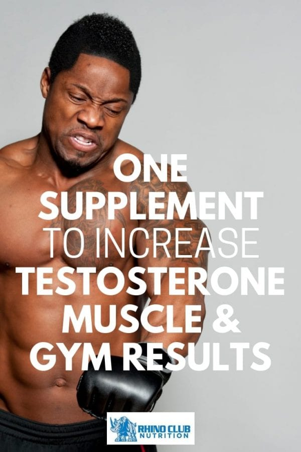 When men age the production of testosterone slows down but Rhino Club Nutrition Testosterone Growth can help restore that production and make life better.