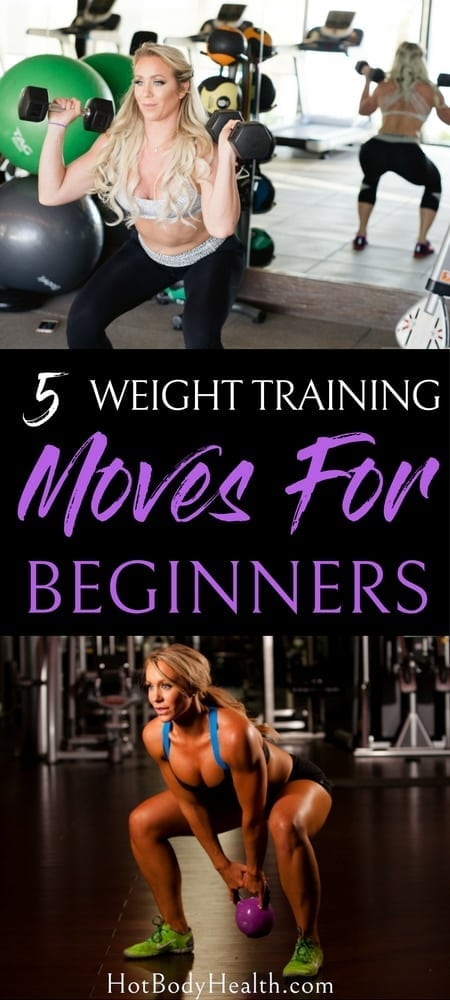Anyone can start weight training moves as long as they keep in mind that they need to practice the movements first and struggling comes with the territory. Weight Training Workouts | How to Start Weight Training | Workout Tips | Weight Training Ideas
