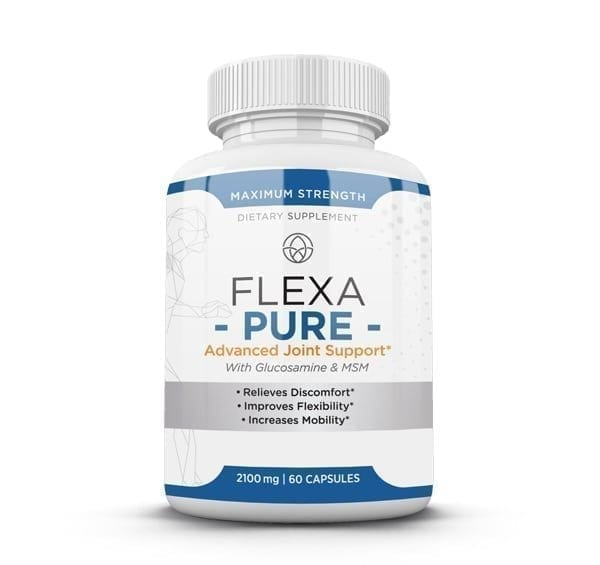FlexaPure by HBI Labs is a health supplement that will help with past sports injury pain in the joints as well as improve mobility.