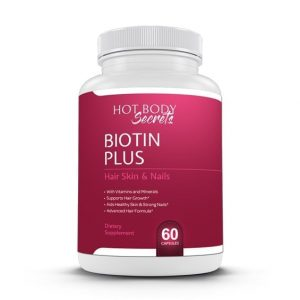 Hot Body Secerts Biotin Plus is specially designed to help women reach their goals in an all-natural and safe way and in a simple to use capsule.