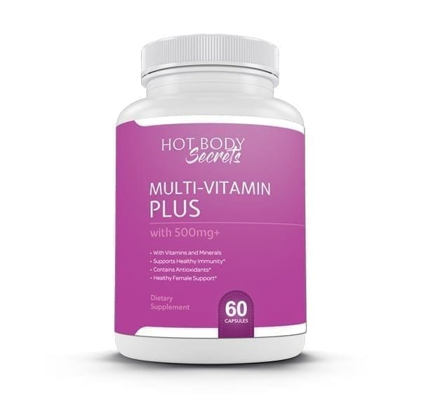 Using Hot Body Secrets Multi-Vitamin Plus, women can get all of the natural nutrients their bodies need to remain healthy.